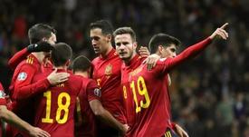 España jugará en Las Rozas si persiste la puerta cerrada. EFE/Archivo