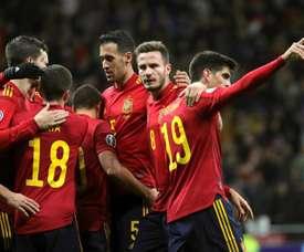 Espanha jogará contra Alemanha e Holanda. EFE/Juanjo Martín/Archivo