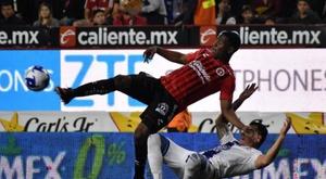 Angulo y su 'hat trick' valen por media final. EFE/Alejandro Zepeda/Archivo