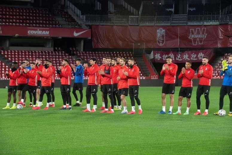 El Granada quiere que sus jugadores estén a punto cuando el fútbol vuelva. EFE/Archivo