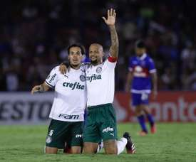 Palmeiras le muestra a Tigre lo que es la Libertadores. EFE