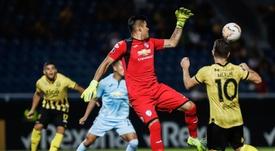 Guaraní derrotó a Bolívar 2-0. EFE/Nathalia Aguilar