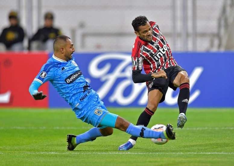 Alves se pasa a los 'eSports'. EFE/José Sotomayor Jiménez