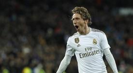 Luka Modric, comme un bon vin. EFE