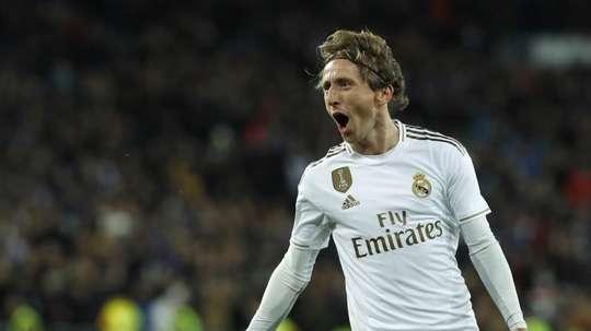 Le report de l'Euro, pas un problème pour Modric. EFE