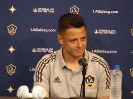 Chicharito deçoit pour ses débuts avec LA Galaxy. EFE