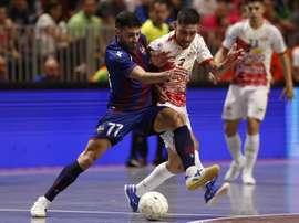 ElPozo Murcia pica billete a la semifinal. EFE/Jorge Zapata