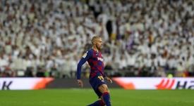 Braithwait est arrivé au FC Barcelone pour combler le vide laissé par Dembélé. EFE