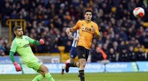 0-0 entre Wolves y Brighton. EFE