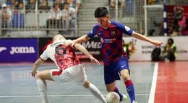 El Barcelona selló su pase a la final al ganar 3-2. EFE
