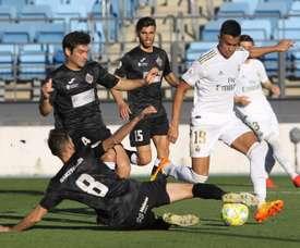 Le Real Madrid baisse aussi le salaire de la réserve. EFE