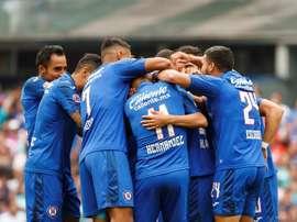 Cruz Azul sumó su octavo triunfo seguido. EFE/ José Méndez