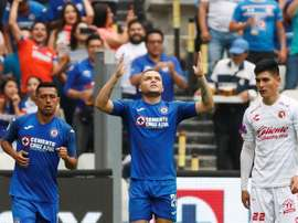 Cruz Azul se mantiene en lo más alto. EFE/ José Méndez