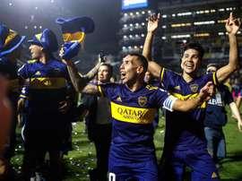 Carlos Tévez acredita que tem mais futebol para oferecer na carreira. EFE/ Juan Ignacio Roncoroni