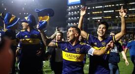 Carlos Tevez se aproxima do fim da careira. EFE/ Juan Ignacio Roncoroni