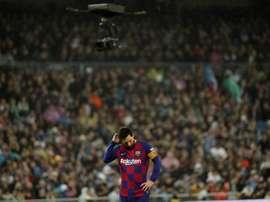 Leo Messi e Barcelona são um pesadelo para a Real Sociedad. EFE/JuanJo Martín/Arquivo