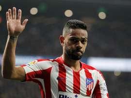 Renan Augusto Lodi completa um ano no Atlético de Madrid. EFE/Víctor Lerena/Arquivo
