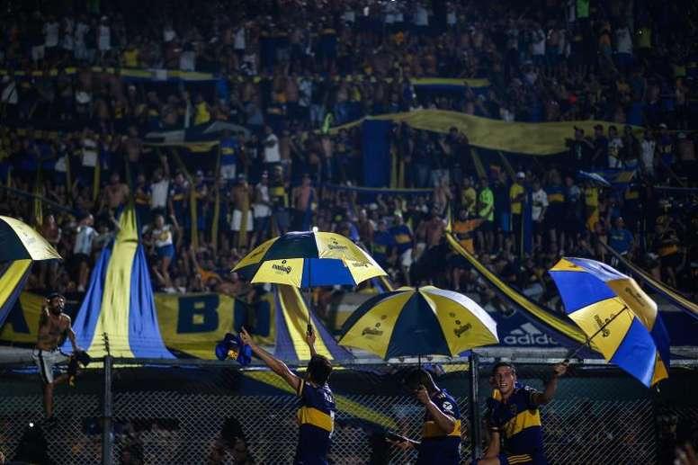 Los dos amistosos de preparación que disputará Boca. EFE/ Juan Ignacio Roncoroni