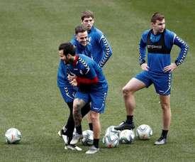 Osasuna se medirá a la Real en el próximo partido. EFE