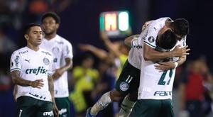 Palmeiras ganó con un gol en el 90'. EFE/Archivo