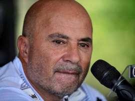 Jorge Sampaoli, técnico de Atlético Mineiro é criticado por Neto. EFE