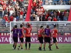 Caracas derrotó 0-1 a Aragua. EFE/Rayner Peña/Archivo