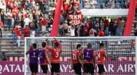 Caracas anunció dos positivos a 24 horas de jugar la Libertadores. EFE