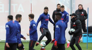 Álvaro Morata revelou os métodos do clube para monitorar a primeiro equipe. EFE/Kiko Huesca