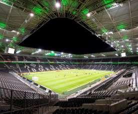 El 'Gladbach-Köln se jugará a puerta cerrada por el coronavirus. EFE