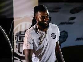 Ni el fichaje de Adebayor ha lanzado a Olimpia en la Libertadores. EFE