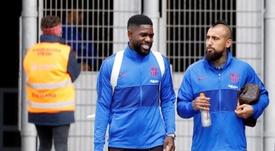 El Chelsea habla con el agente de Umtiti. EFE/Archivo