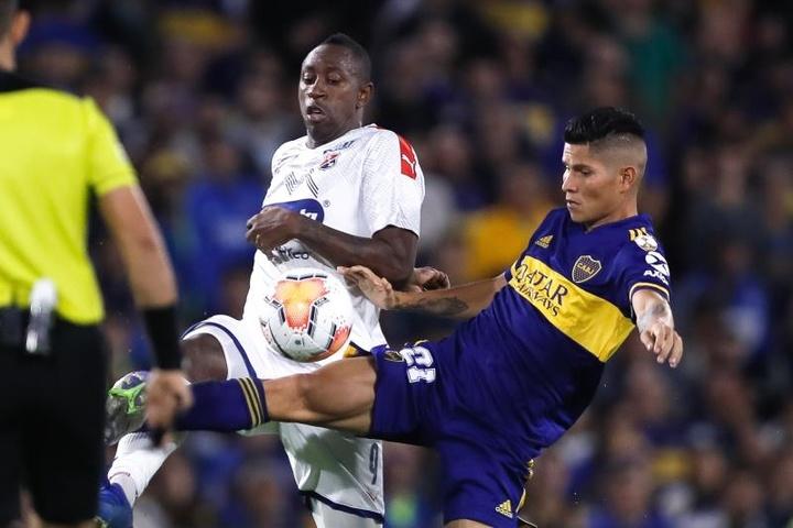 Boca quiere más por Jorman Campuzano. EFE/Archivo