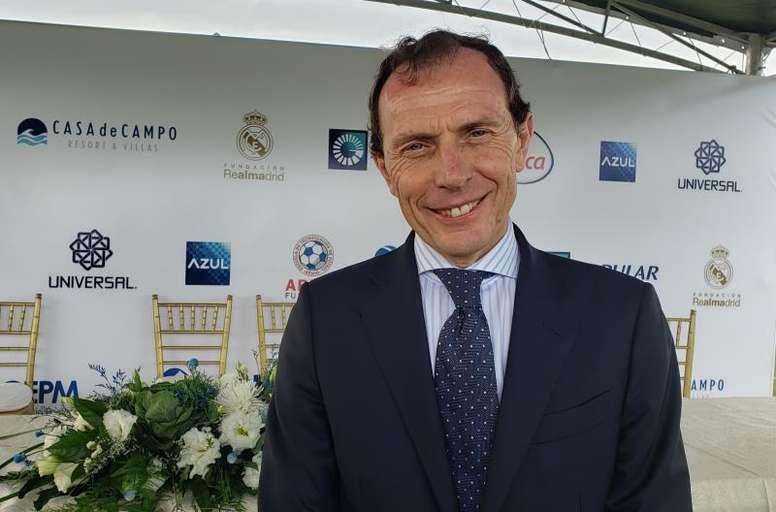 La Fundación Real Madrid y la casa Ansorena se unen. EFE