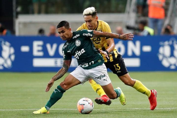 Dudu volta ao Palmeiras: veja os números do atacante. EFE/Sebastião Moreira