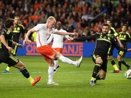 Los Países Bajos jugarán en principio ante España. EFE