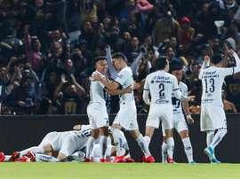 Las medidas del fútbol mexicano por el coronavirus. EFE/José Méndez/Archivo