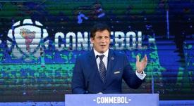 CONMEBOL no viajará de manera internacional. EFE