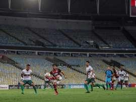 Flamengo y Sao Paulo remontan, Sampaoli deja su sello. EFE/Antonio Lacerda