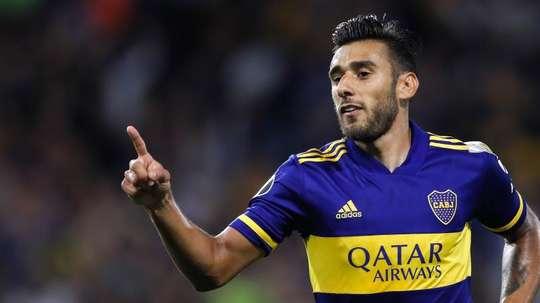 Boca Juniors vence o Libertad por 2 a 0. EFE/Juan Ignacio Roncoroni