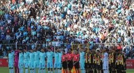 Los jugadores de Bolivia se niegan a la bajada de sueldos. EFE