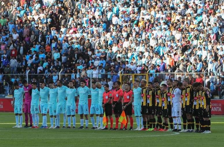 El fútbol boliviano se encuentra detenido. EFE/Martin Alipaz/Archivo