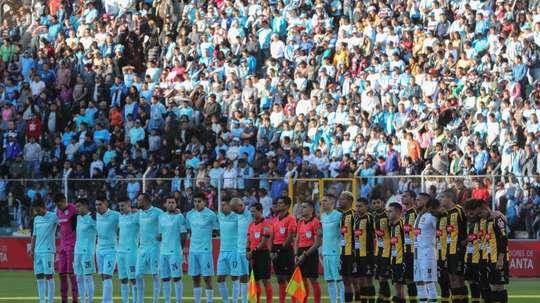 Bolivia piensa en jugar en agosto. EFE