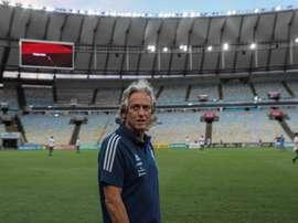 Jorge Jesus, técnico desejado pelo Benfica. EFE/ Antonio Lacerda/Arquivo