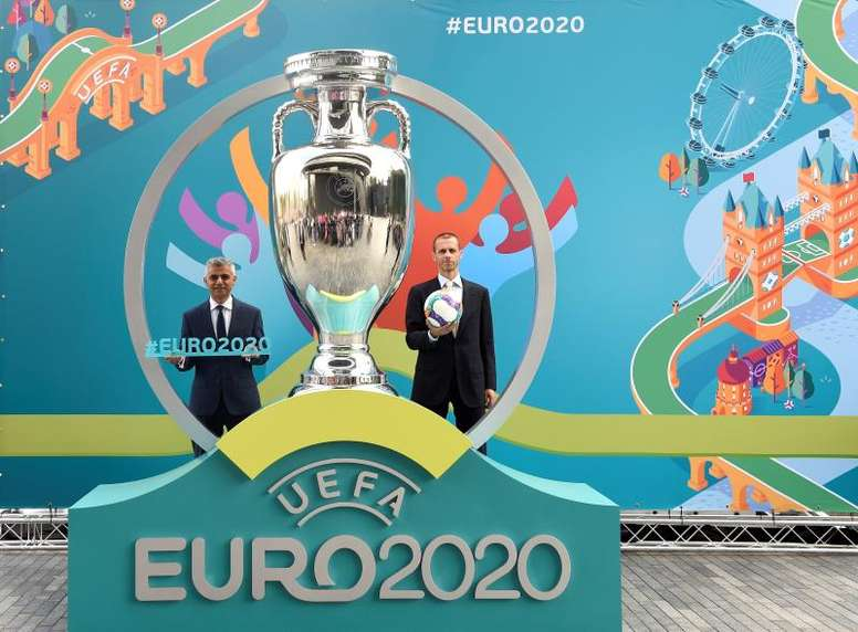 Aleksander Ceferin garante a Eurocopa para 2021. EFE/EPA/Arquivo
