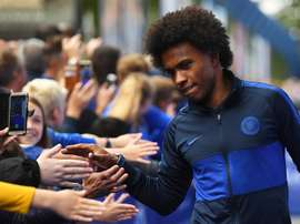 Willian recusou oferta tentadora do futebol dos Estados Unidos. EFE/Neil Hall/Arquivo