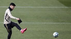 Marco Asensio avanza con paso firme hacia su recuperación total. EFE/Archivo