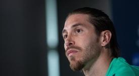 Ramos insistiu na necessidade de ficar em casa. EFE/Rodrigo Jiménez