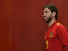 España tenía previsto concentrarse este lunes. EFE