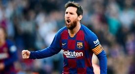 Leo Messi tiene su propio Top 10 de mejores jugadores mundiales. EFE