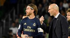 Zidane se interesa a diario por el estado de sus jugadores. EFE